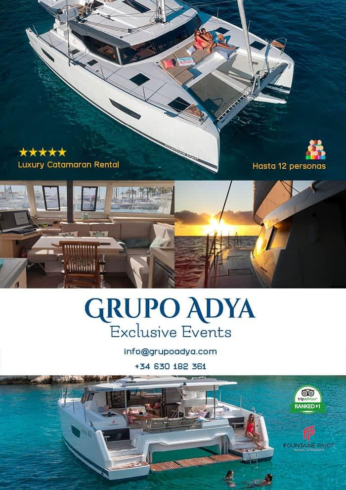 Catamarán Grupo Adya