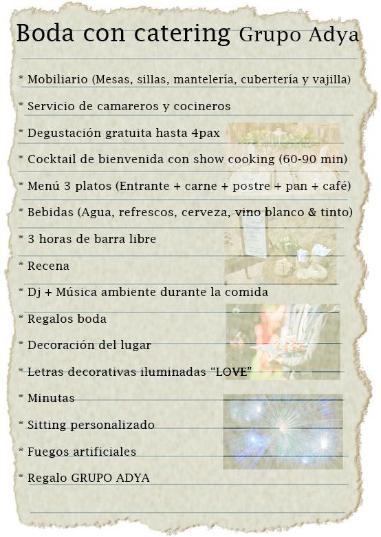 Boda con catering | Grupo Adya | Tenerife